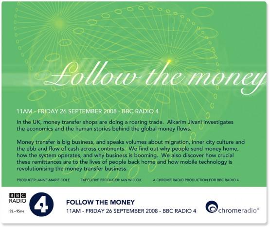 Follow the Money « Chrome Media